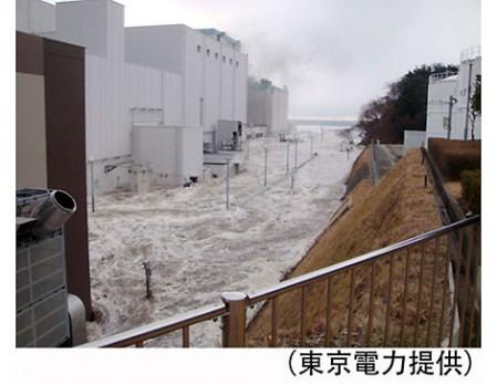 東電原発事故津波